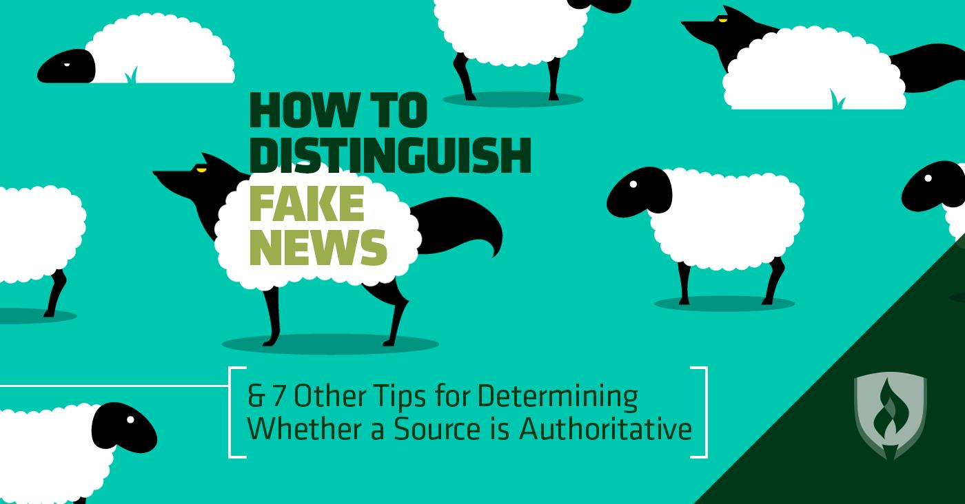 How to Distinguish Fake News