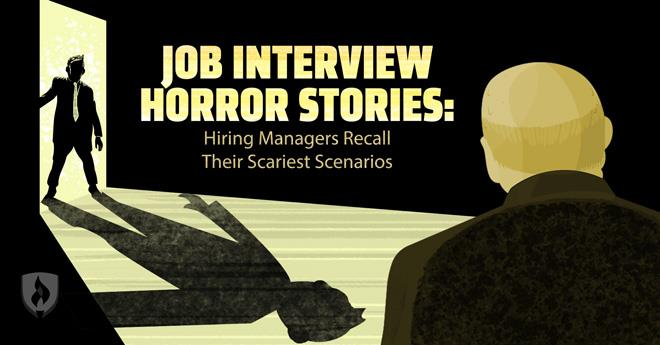 job interview horror stories