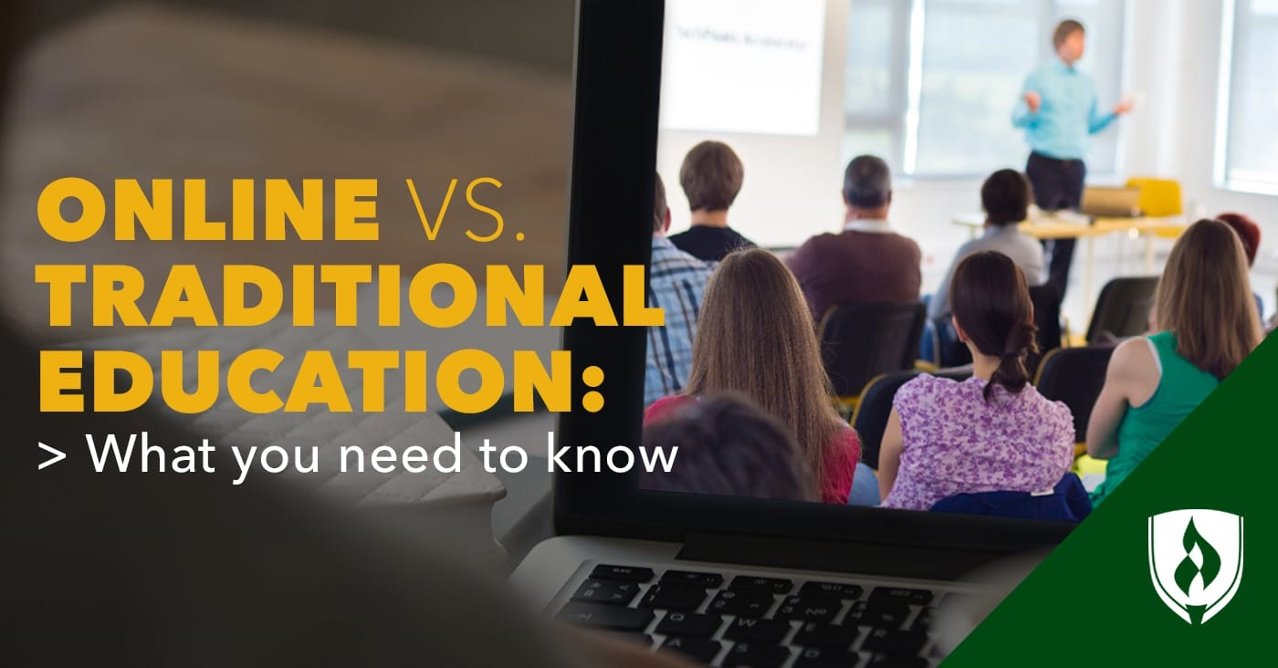 Online versus traditional education