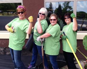 Rasmussen Employees Community Service Event