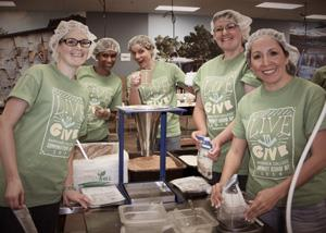 Rasmussen Employees Community Service Event 4