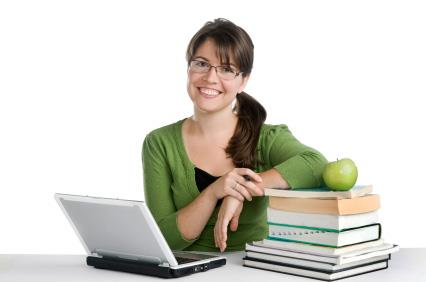 teacher reads blog and books