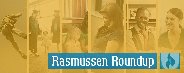 Rasmussen College news roundup yellow