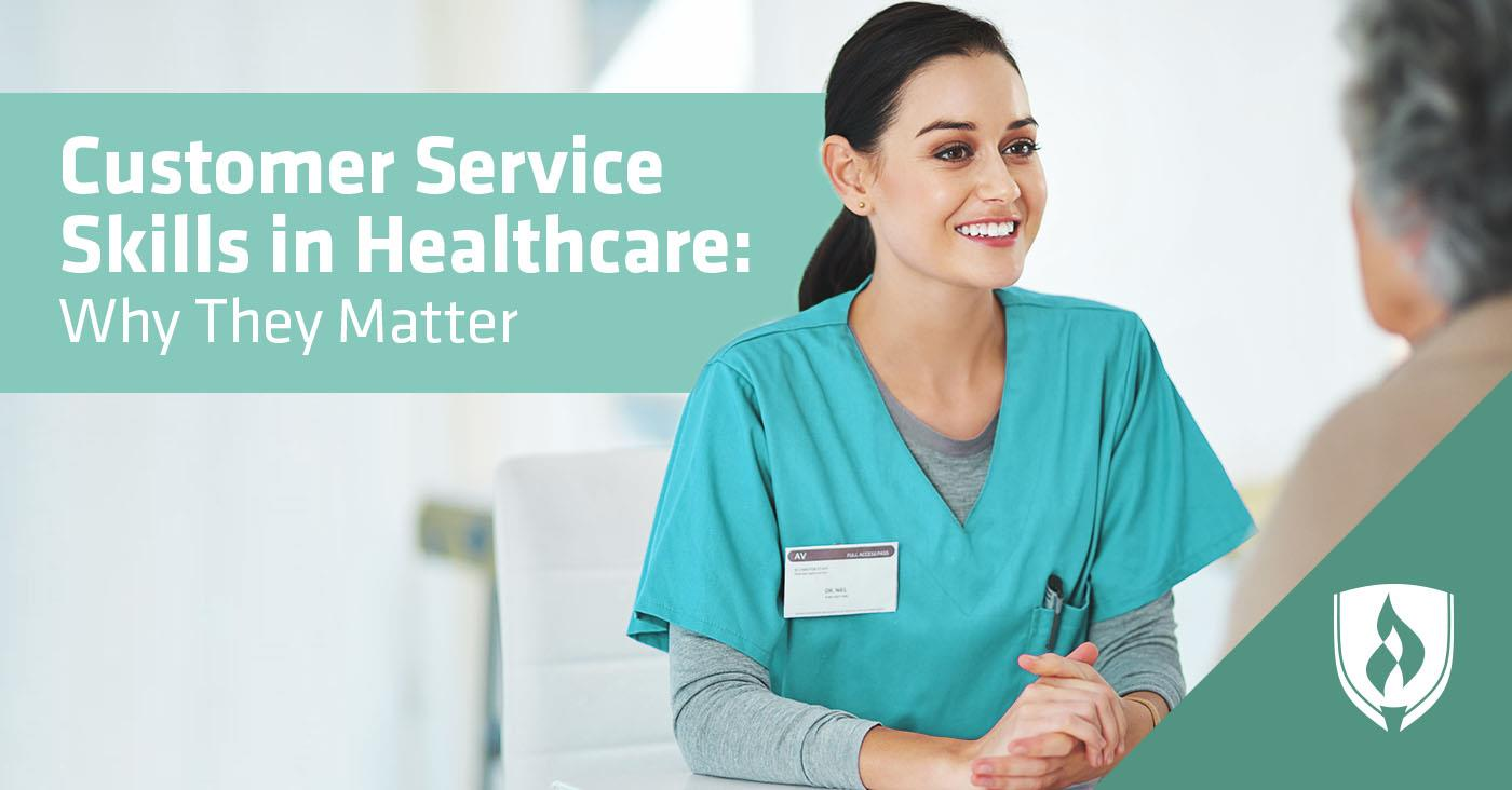 Customer service in healthcare