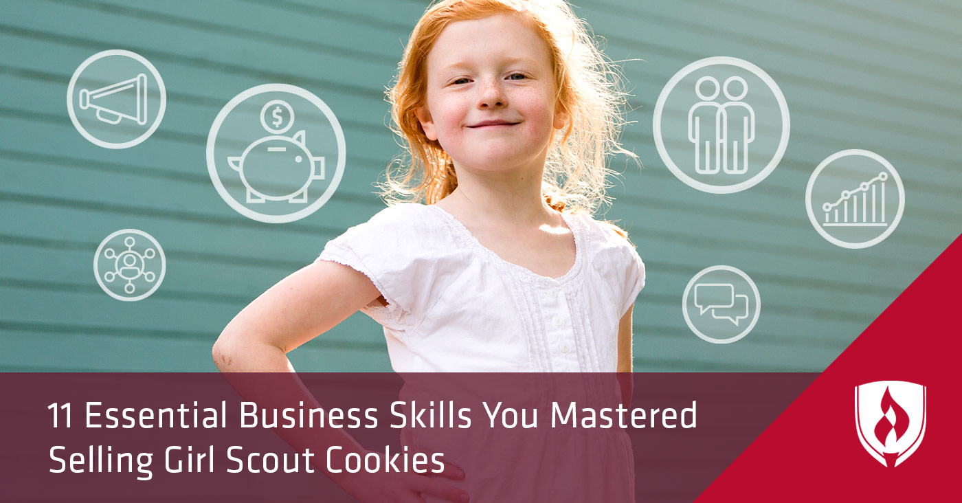 Business Skills from Selling Girl Scout Cookies