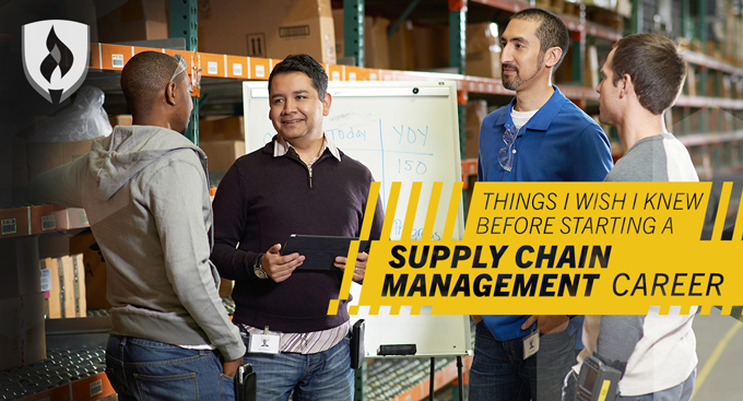 supply chain management career banner