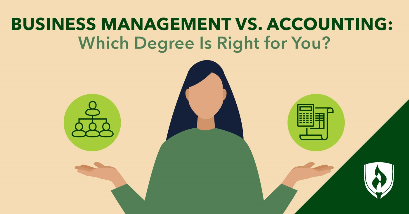 Business Management vs. Accounting