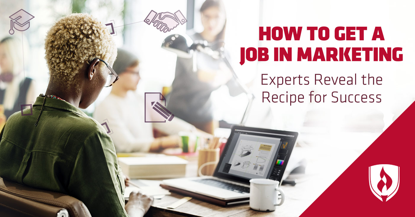 How To Get A Job In Marketing. U201c