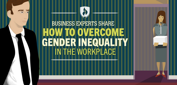 business experts share how to overcome gender inequality