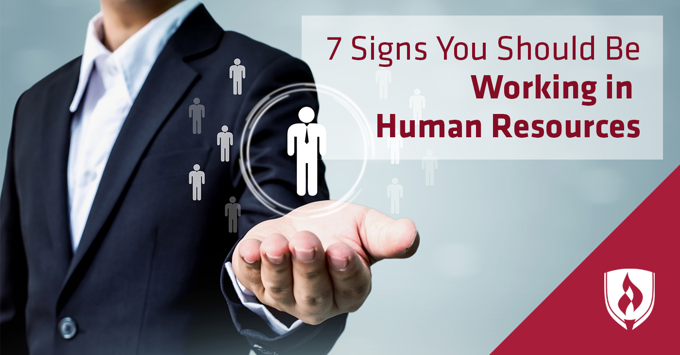 signs you should be working in hr