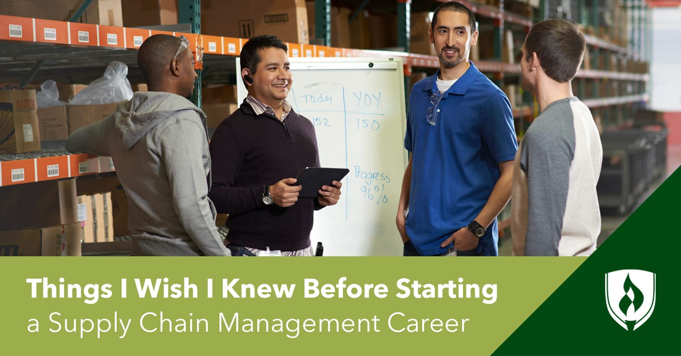 Things I Wish I Knew Before Starting A Supply Chain Management
