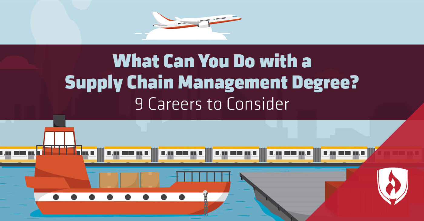 Supply Chain Management Degree Jobs
