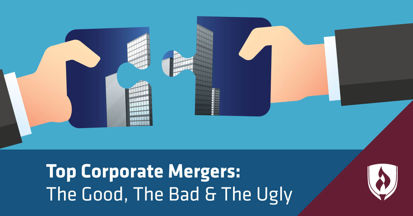 top corporate mergers