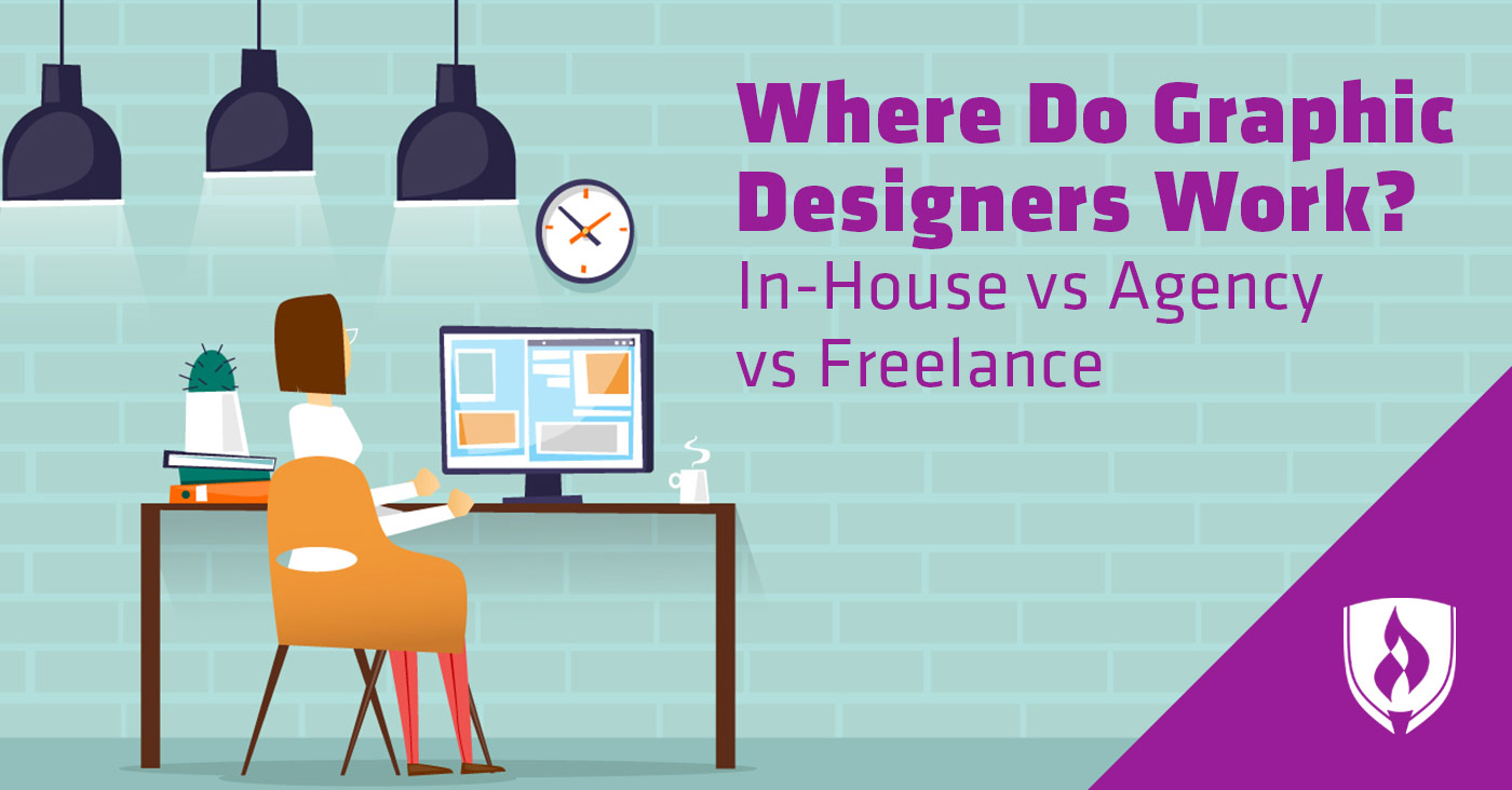 where do graphic designers work in house vs agency vs freelance. Black Bedroom Furniture Sets. Home Design Ideas