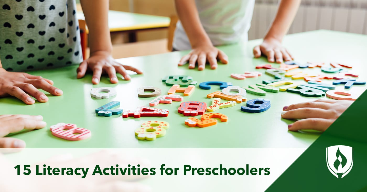 15 Literacy Activities for Preschoolers