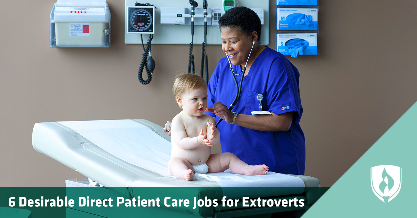 direct patient care jobs for extroverts