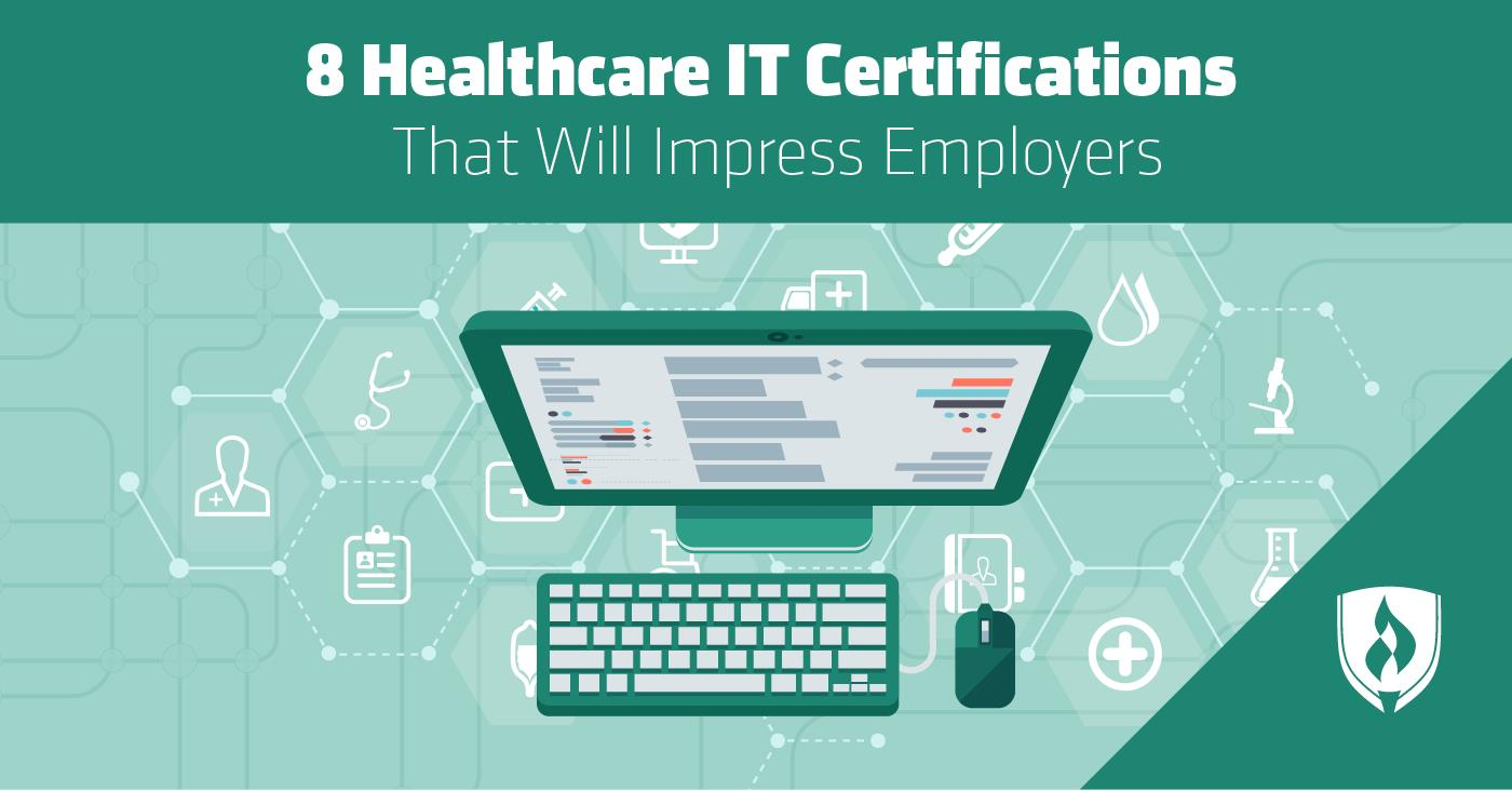 8 In Demand Healthcare It Certifications 2018