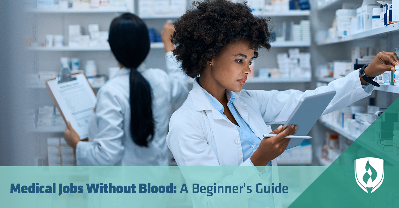 medical jobs without blood