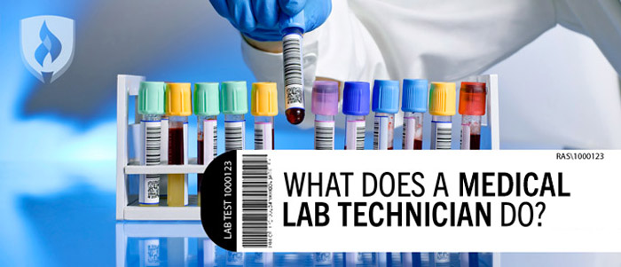 What does a medical lab tech do