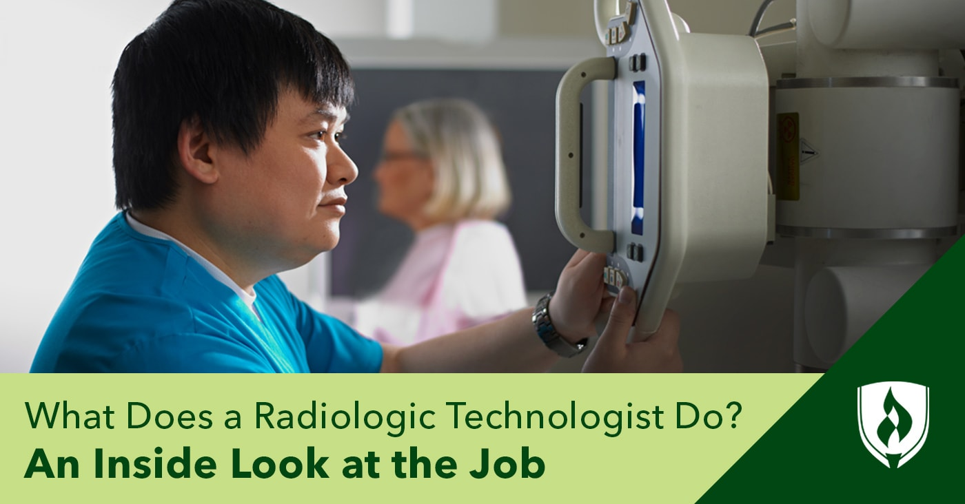 what does a radiologic technologist do