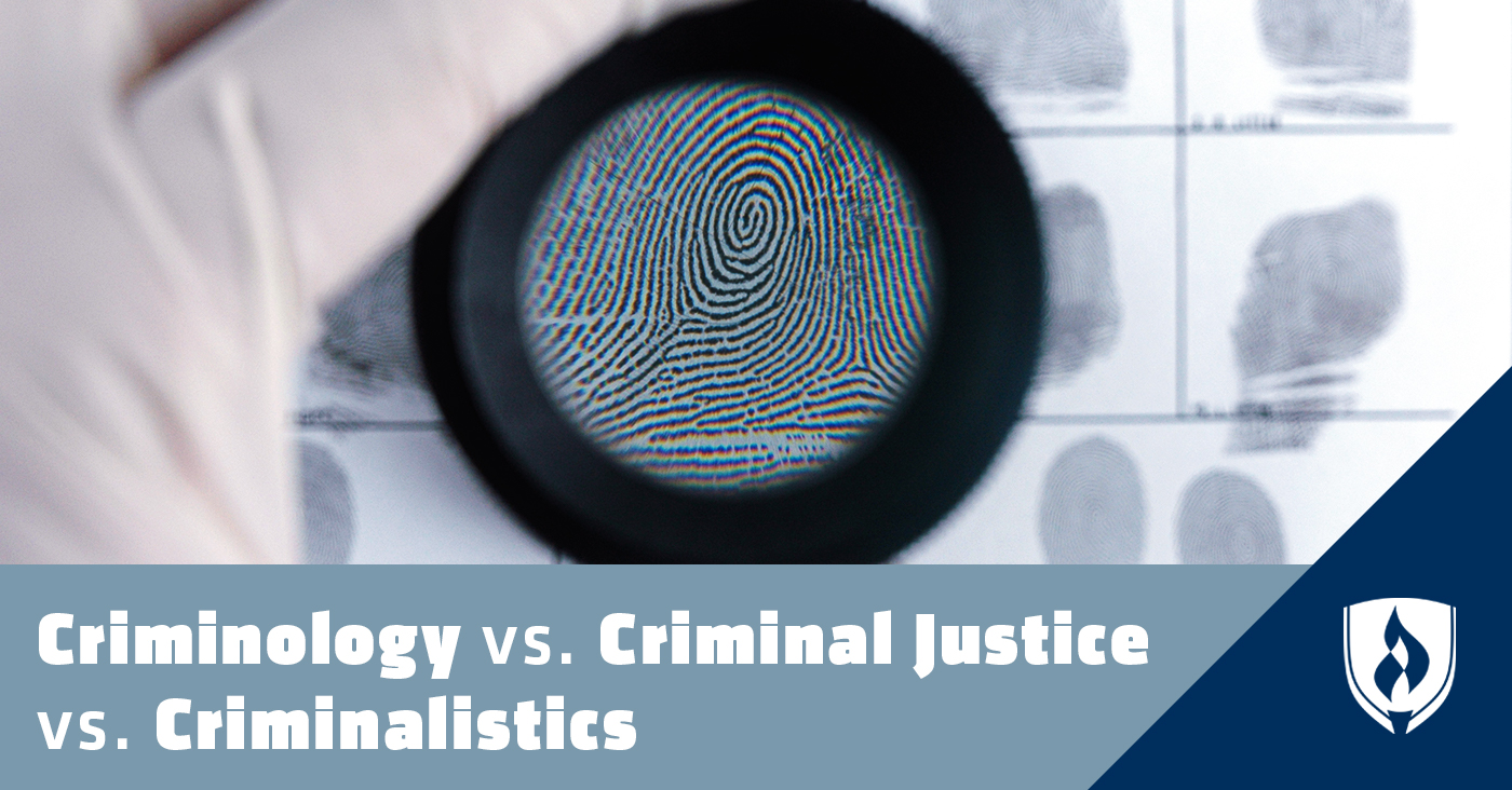 Criminology vs Criminal Justice