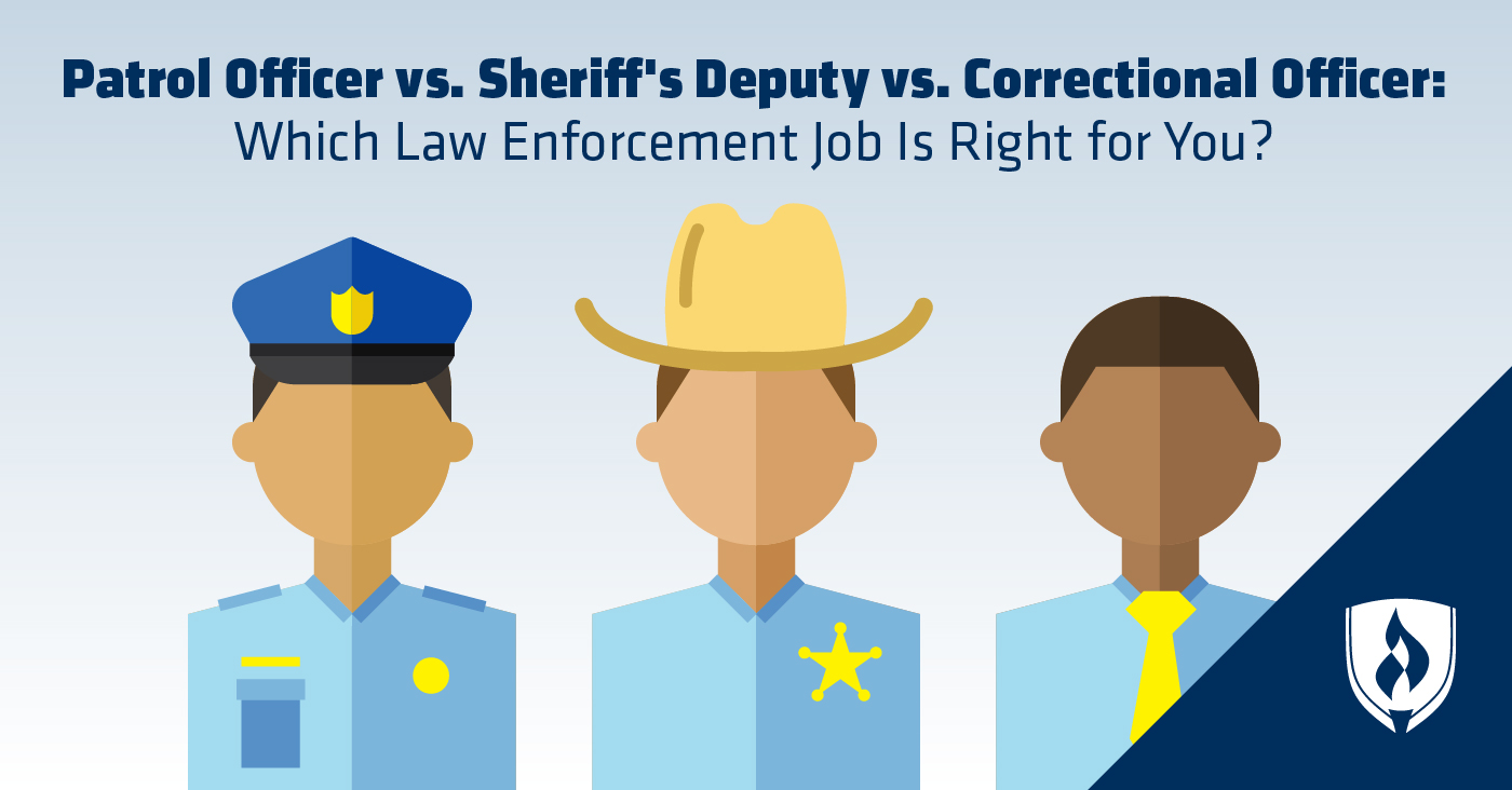 Sheriffu0027s Deputy Vs. Correctional Officer: Which Law Enforcement Job Is  Right For You?