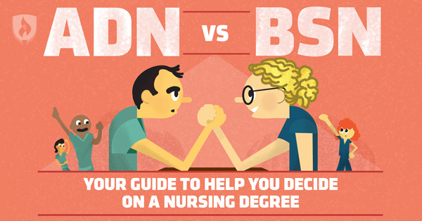 ADN vs. BSN: Your Guide to Help You Decide on a Nursing Degree
