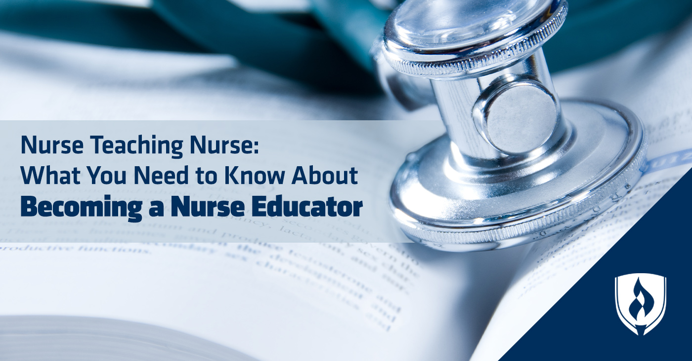 becoming a nurse educator