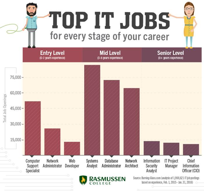 Top IT Job Titles for Every Stage of Your Tech Career