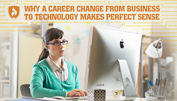 Career change business to technology