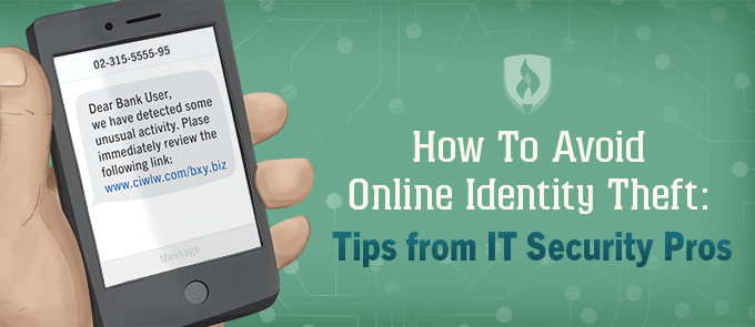 How to Avoid Online Identity Theft