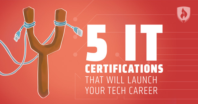 IT certifications that will launch your tech career