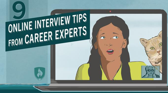 9 Online Interview Tips from Career Experts