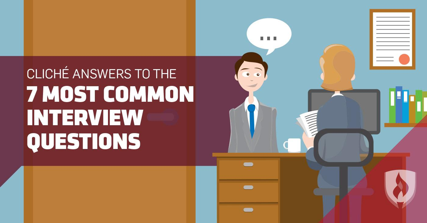 Attractive Most Common Interview Questions