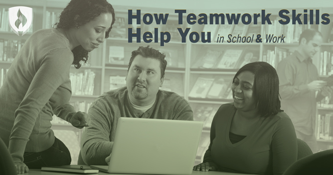 how to develop teamwork skills in college