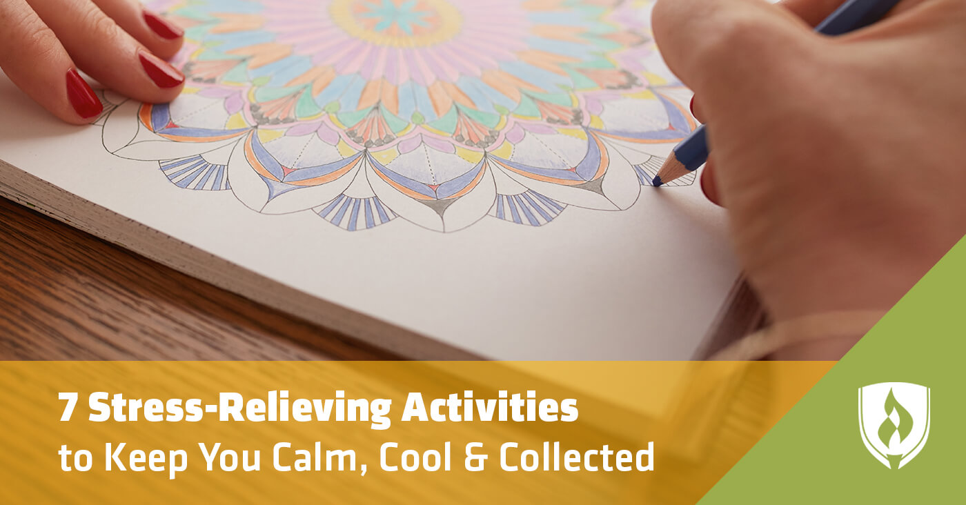 stress relieving activities
