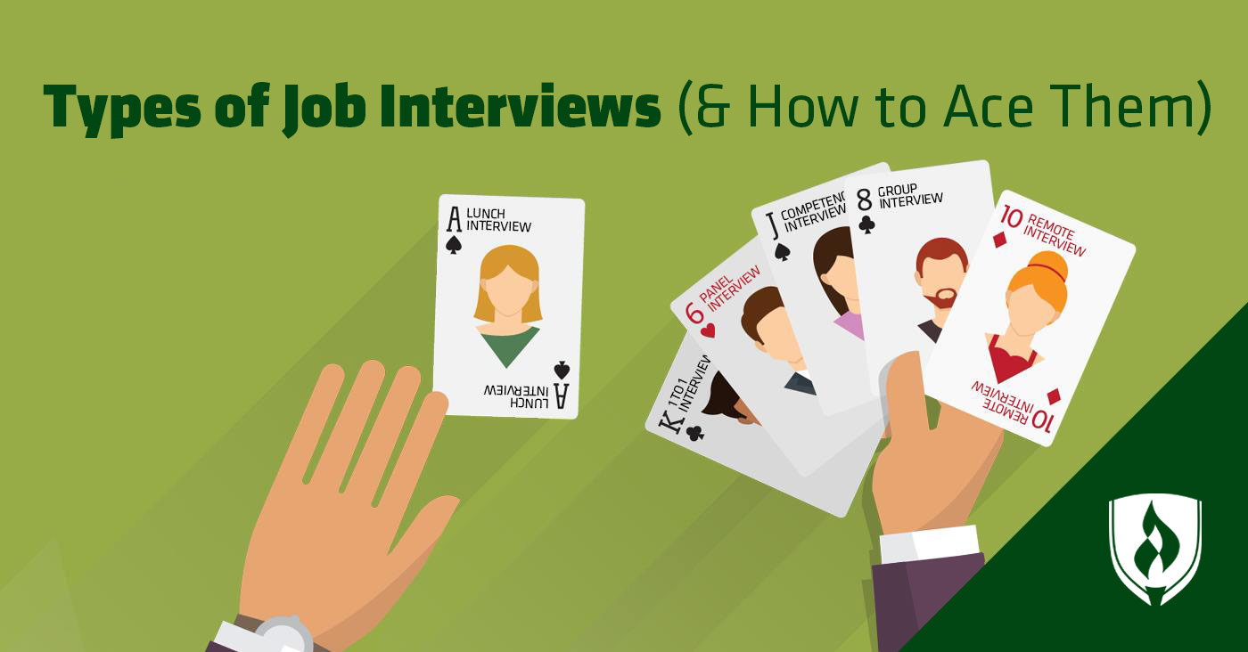 7 types of job interviews  and how to ace them