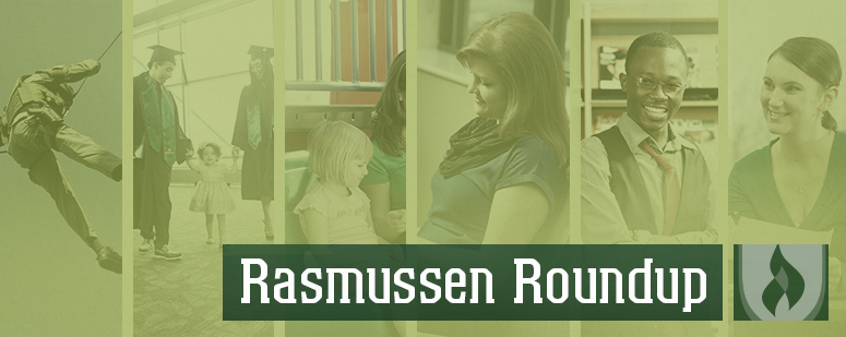 rasmussen college news roundup